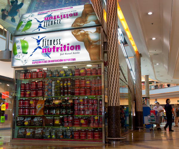 centro comercial rosaleda, fitness nutrition